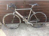 Raleigh Titanium bike 55.5 cm frame