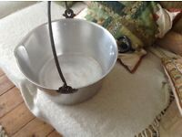 "Swan Brand 14"" Heavy Aluminium Jam Preserving Pan with Handle"