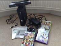 XBox 360 Kinect Sensor and games Kinect Adventures, Sports Wrestle Mania