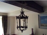 Pretty antique light fitting.