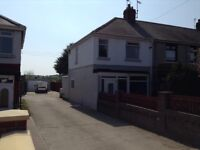 Totally Refurbished End Terrace with DOUBLE garage and Workshop, GREAT LOCATION FENS area