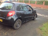 Renault Clio 1.5dci for spares not recorded