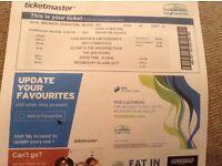 2 tickets for Jeff Lynne's ELO Glasgow Hydro 28th June