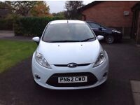 Ford Fiesta 1.25 Zetec (White) 1 Previous *Immaculate Condition* (Full ford service history/MOT)