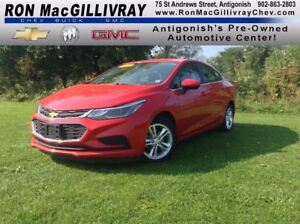 2017 Chevrolet Cruze LT..Low KM..$161 B/W Tax Inc..Heated Seats