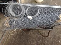 Galvanised Chainlink Fencing (New)