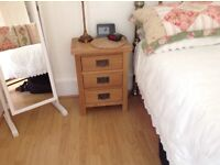 Bedside table. Nearly new. Suitable for bedroom or anywhere in your home.