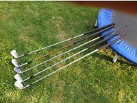 Spare golf clubs