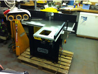Sedgwick SM4 Spindle Moulder and Feeder - 3 Phase, Can Pallet