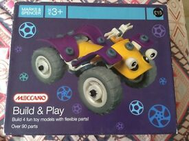 Meccano Build and Play age 3+