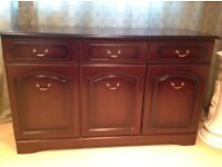 Sideboard - mahogany colour