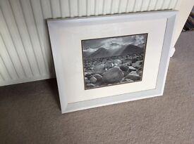 Ansel Adams framed photograph