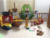 Jake and never land pirates toy bundle