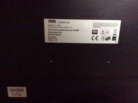 19 inch AOC LCD Monitor