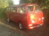 VW volkswagen baywindow bay window t2 type2 transporter camper van