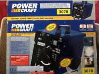 160A Arc Welder - Unused and still in the box - Aldi Power Craft