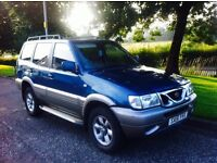 51 plate Nissan Terrano 2.7 td 7 seater facelift model only £695