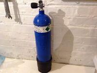 7 litre steel 232 bar diving cylinder / PCP / airgun use ?