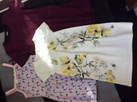 Girls dress x3 items, size 10-11 year, dress on top is Brand new