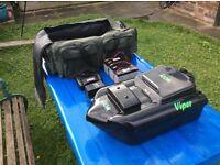 viper icon bait boat for carp fishing