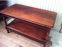Shabby Chic Coffee Table with Shelf or TV Bench