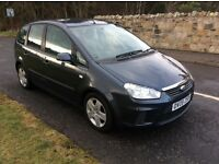Ford Focus C-Max 1.6 DIESEL,2008. Mot April and PART EX AVAILABLE...