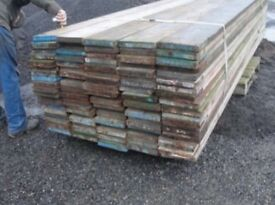Heavy duty scaffolding boards for sale ideal for farm, equestrian , garden, builders projects,DIY