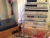 hifi stereo components working, excellent condition in original boxes, with original instructions