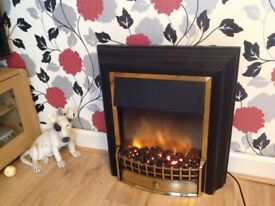 Dimples Electric Fire, (Cheriton 33212D2F Brand New never used