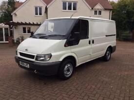 FORD TRANSIT 2005, SWB, 124,000 MILES, 12 MONTHS MOT, GOOD CONDITION, 2 FORMER KEEPERS