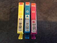 3 x Genuine HP 364 XL Colour Printer Cartridges