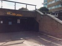 SECURE UNDERGROUND PARKING WAPPING 24 hr CCTV AVAILABLE IMMEDIATELY