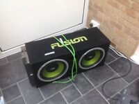 Fusion Double Subwoofer