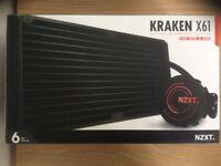 Used NZXT Kraken x61 AIO cooler