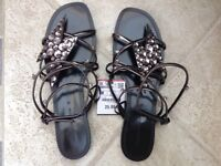 Zara ladies sandals BNWT