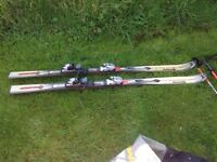 Ski bundle - boots, 2 sets of skis, 2 sets of sticks - open to offers