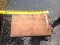 Kent Peg roof tiles, approx 1950, selling as job lot, palleted in box. Priced to sell £650.