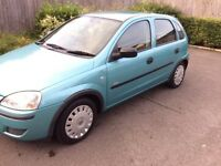 2005 Vauxhall Corsa 1.2 Life twin port Petrol 5 Drs Hatchback 80000miles ServiceHistory 12 Month Mot