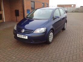 VOLKSWAGEN GOLF PLUS 1.6 FSI S (05) SERVICE HISTORY, HPICLEAR.