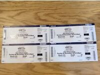WWE LIVE LEEDS ARENA X4 TICKETS Sunday 6th NOVEMBER