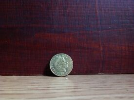 Collectable Golden 2 Pence Coin