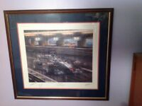 Formula One Signed Limited Edition Print