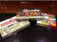 Selection Board Games - Monopoly, Twister and NEW Cluedo