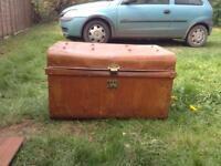 1920s tin box