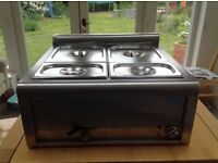 Cougar 1.5 high quality wet electric Bain Marie