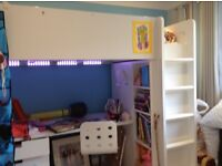IKEA Stuva bunk bed combo with desk and drawers