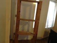 Wood shelving for sale west end