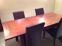 Extending Dining Table from Villa & Hut seats 8 - 10