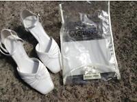 Bride/Bridesmaid size 3 dyeable shoes