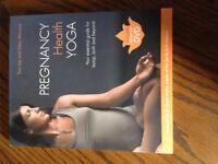 Pregnancy yoga book and DVD